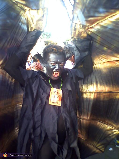 Black Vampire Costume