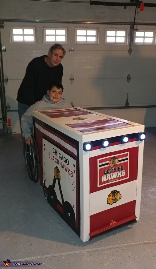 Blackhawks Zamboni Costume