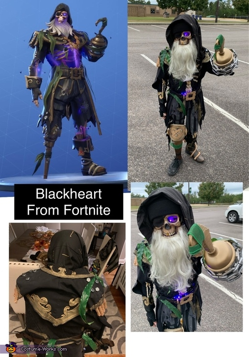 Blackheart Homemade Costume