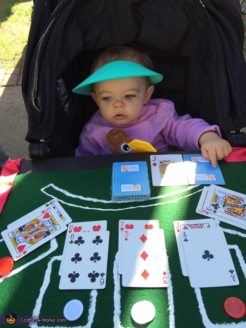 Blackjack Dealer Baby Costume