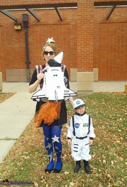 Blast Off Homemade Costume