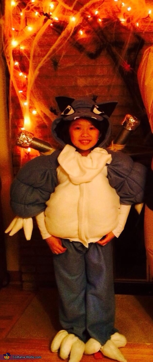 Blastoise Pokemon Homemade Costume