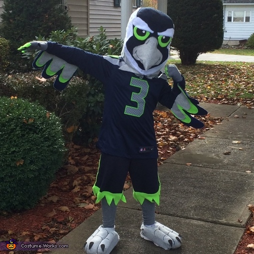 Blitz the Seattle Seahawk Costume