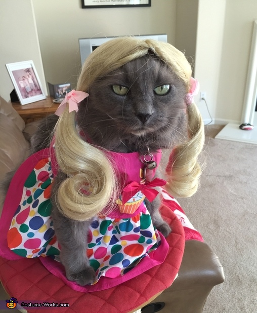 Blonde Cat Costume