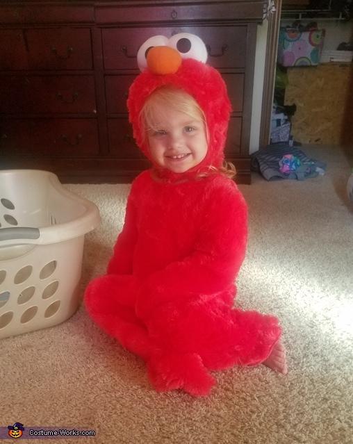 Blonde Elmo Costume