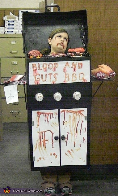 Blood and Guts BBQ Costume