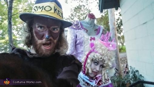 Bloody Headless Marie Antoinette Homemade Costume