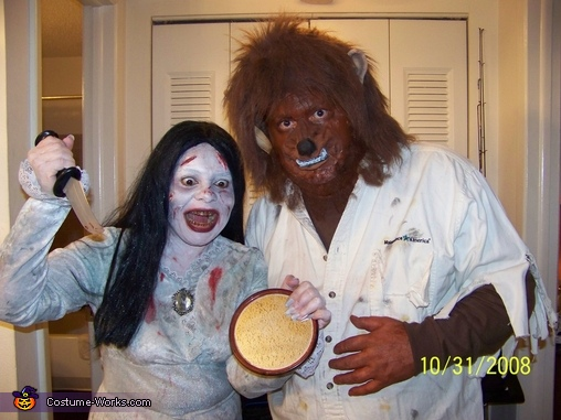 Bloody Mary and the Wolfman Costume