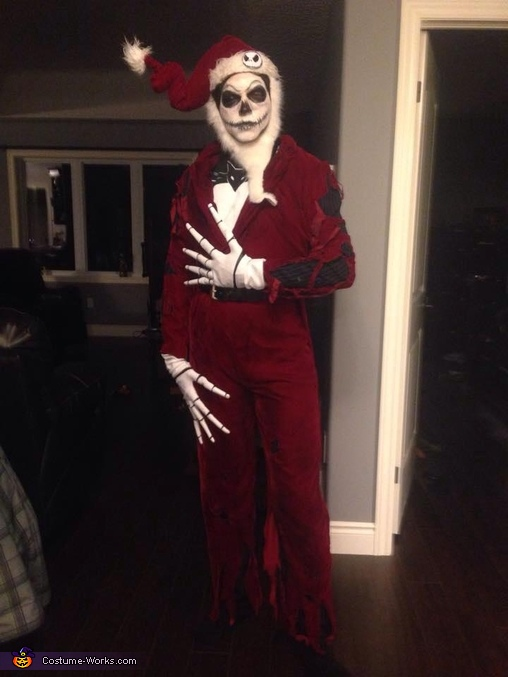 Blown up Jack Skellington Costume