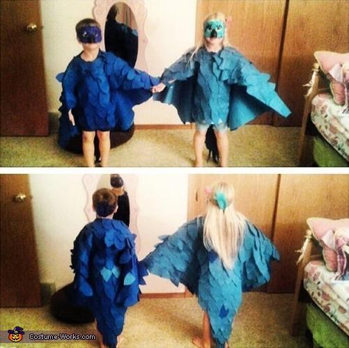 Rio Blu and Jewel Costume