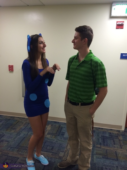 Blue and Steve Couple Homemade Costume