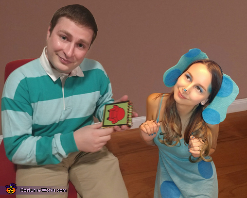 Blue and Steve from Blue's Clues Costume