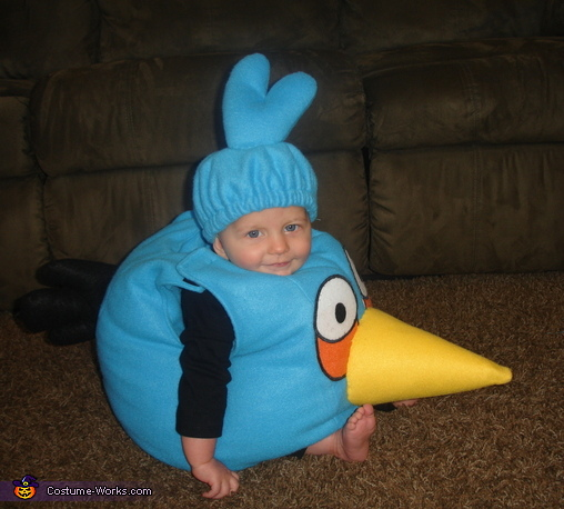 Blue Angry Bird costume, Angry Birds Costumes