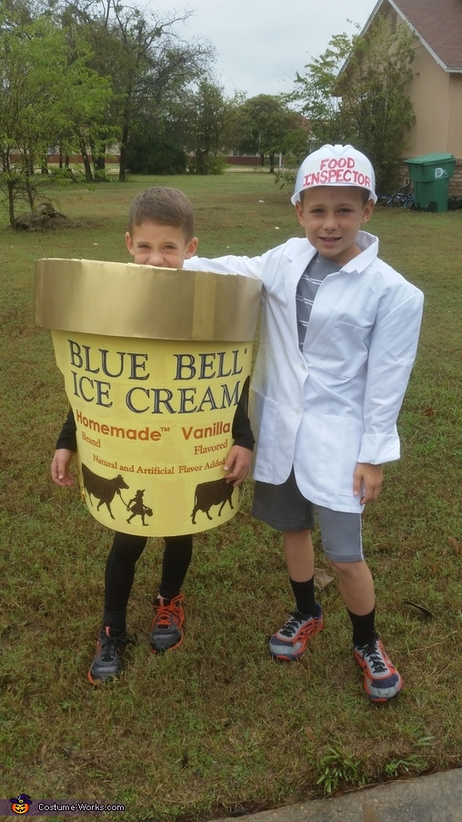 Bluebell  &  the Food Inspector, Blue Bell & the Food Inspector Costume