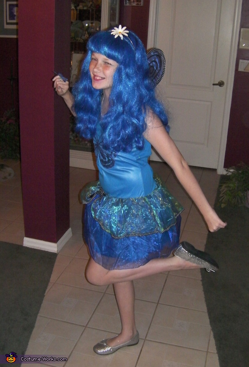Blue Butterfly - Homemade costumes for girls