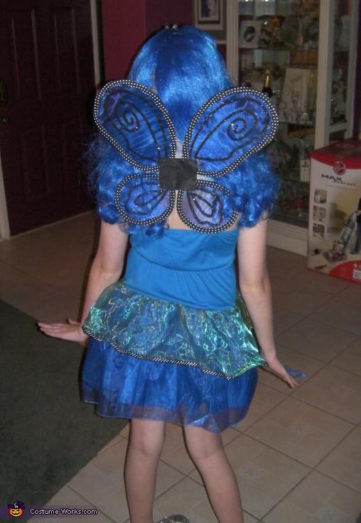 BLUE BUTTERFLY 2, Blue Butterfly Costume