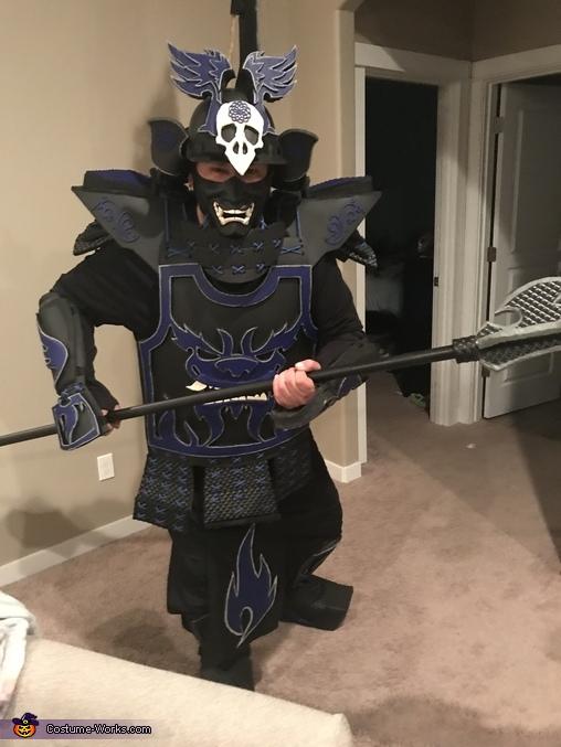 Blue Crow Samurai Costume