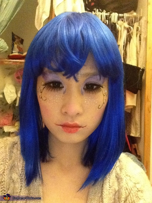 Blue Doll Homemade Costume