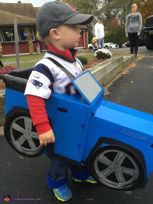 Blue Jeep Costume