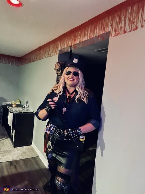 Me, Blue Lives Matter - Mrs Officer Costume