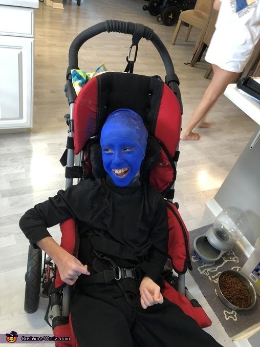 Blue Man Group Homemade Costume