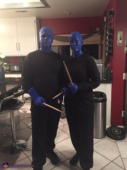 Blue Man Group Costume
