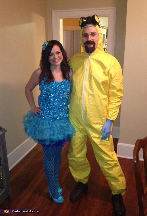 Blue Meth and Walter White Couple's Costume