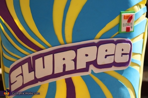 Blue Raspberry Slurpee Homemade Costume