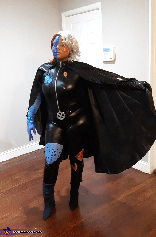 Blue Storm Costume