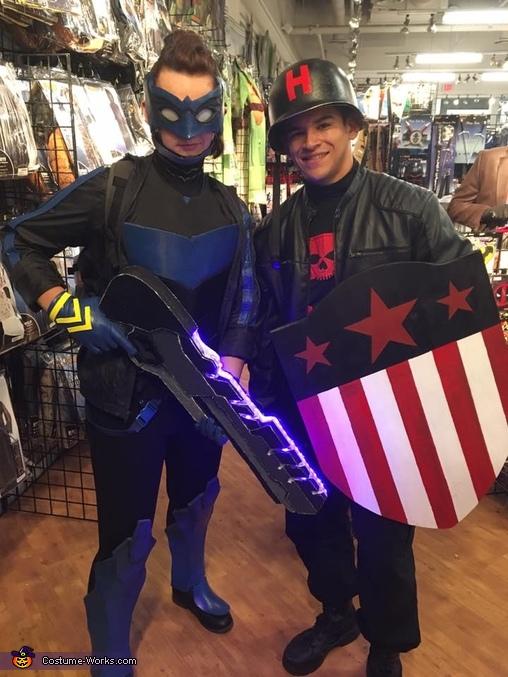 Bluebird - Batman and Robin Eternal Costume