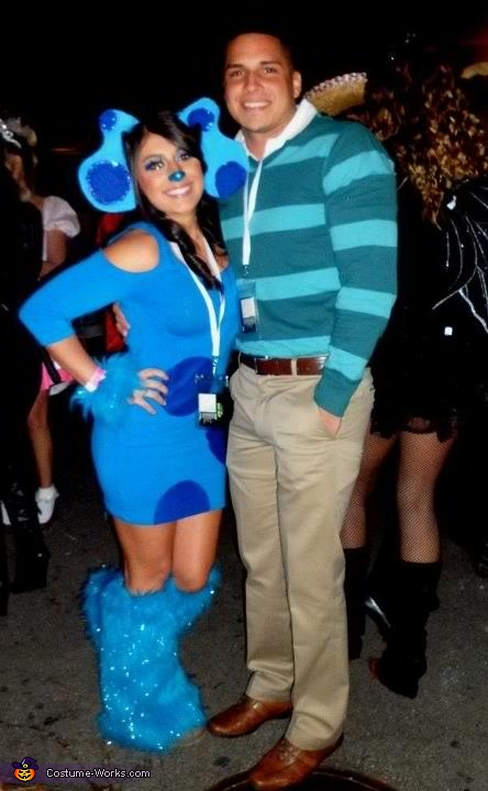 Blues Cluesssss! :), Blue's Clues Costume