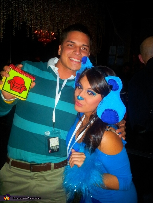 roof roof!, Blue's Clues Couple Costume