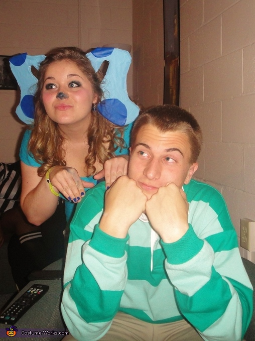Sit down in our Thinking Chair and think, think, think!, Blue's Clues Costumes