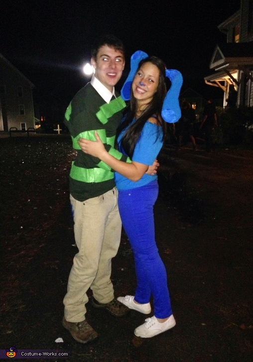 Blue's Clues Couples Costume