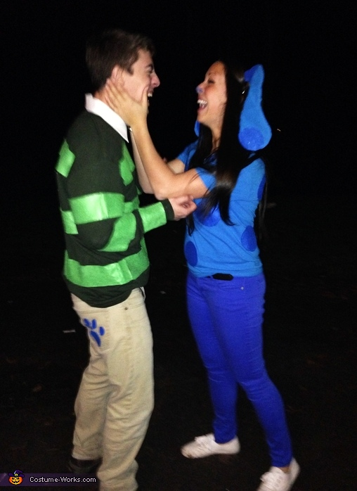 Steve and Blue!, Blue's Clues Couples Costume