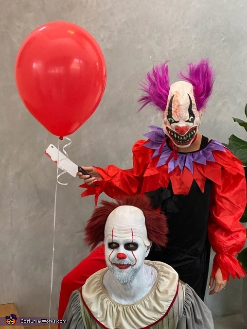 Bo Bo and Pennywise Costume