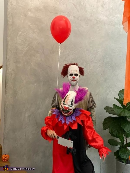 Bo Bo and Pennywise Homemade Costume