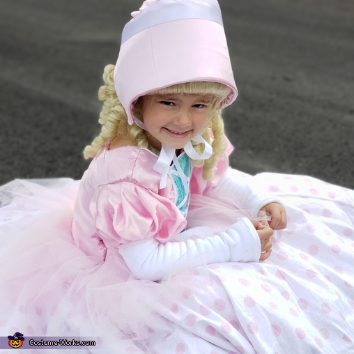 Bo Peep Homemade Costume