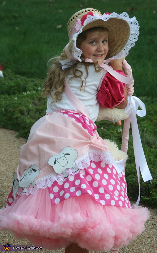 lost her sheep, Little Bo Peep Costume