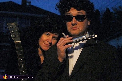 Bob Dylan and Joan Baez Couple Costume