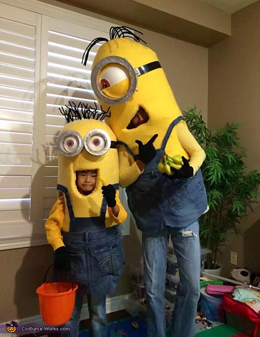 Bob & Stuart Minions Costume