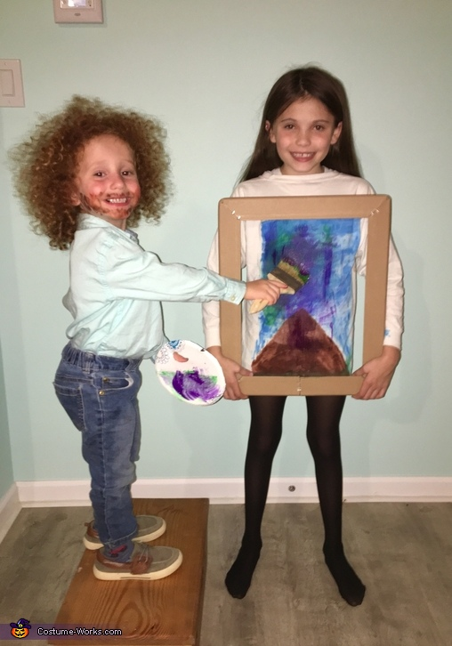 Bob Ross and his Painting Costume