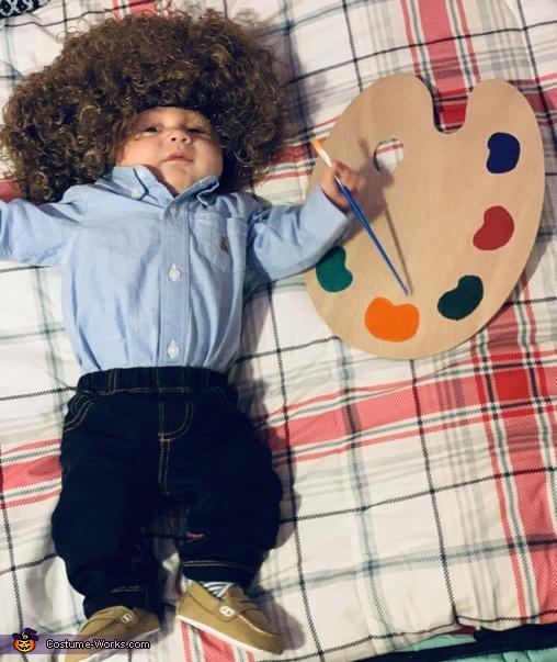 Bob Ross Costume