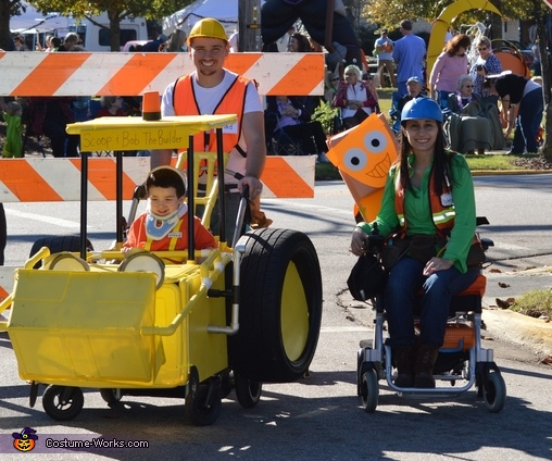 Bob the Builder and Scoop Homemade Costume