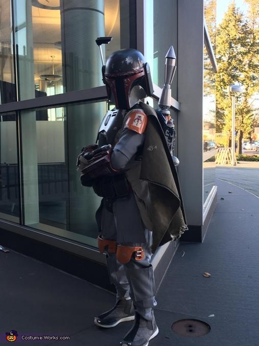Boba Fett pose 3, Boba Fett Costume