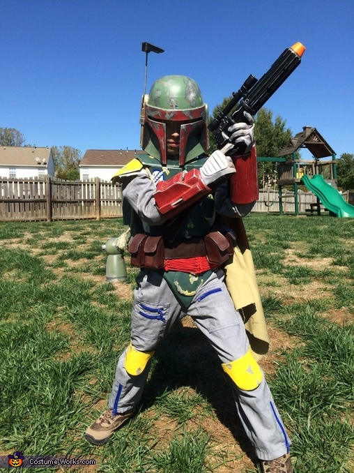 Boba Fett Homemade Costume