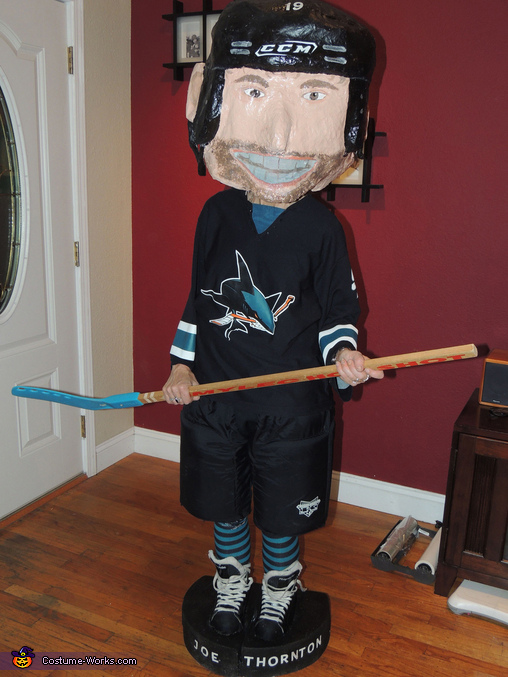 Bobble Head Joe Thornton Costume
