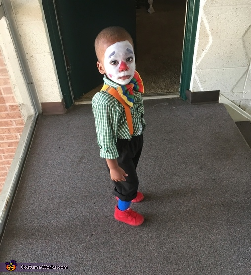 Bobby the Clown Homemade Costume