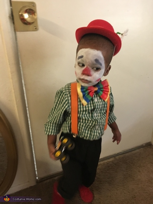 Bobby the Clown Homemade Costume