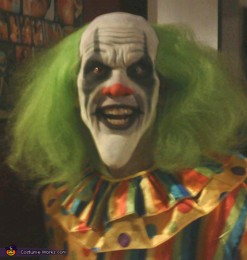 Bobo The Evil Clown Scary Costume